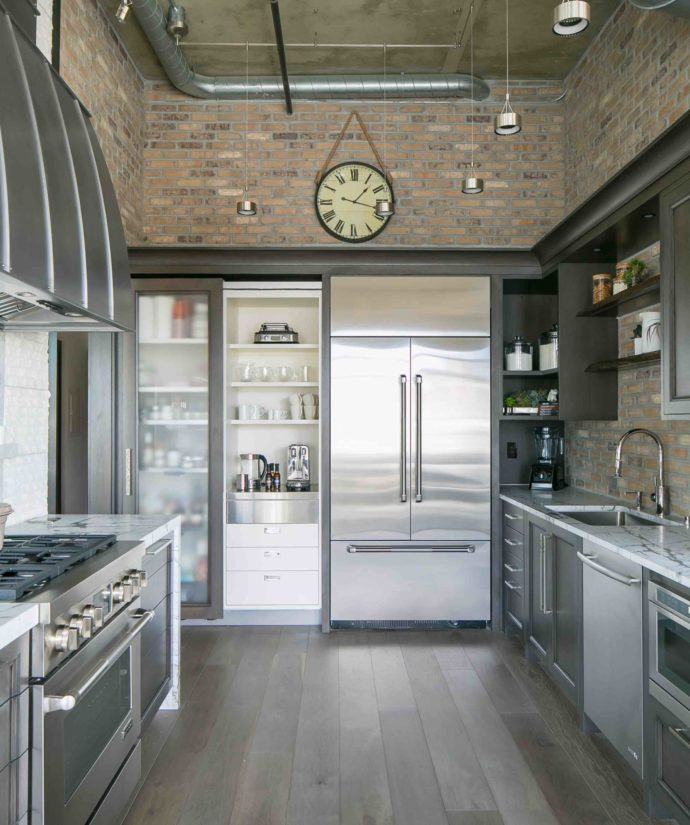 Denver Loft Kitchen