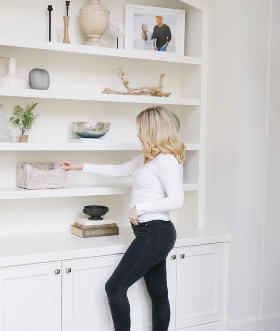 Sharrah-Decorating-Bookshelf